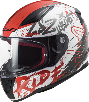 FF353 RAPID Naughty white casco integral road touring