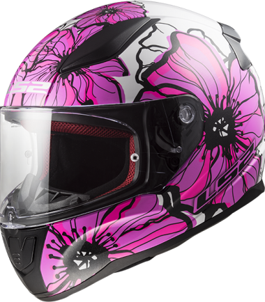 FF353 RAPID poppis pink casco integral road touring