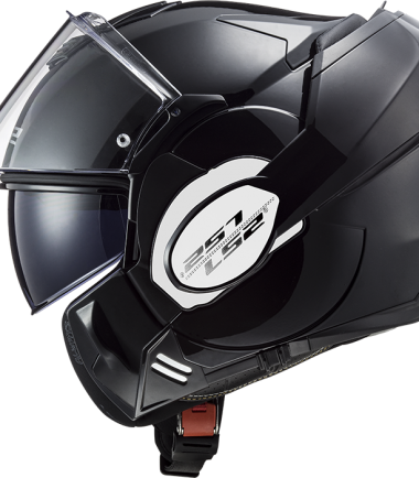 VALIANT FF399 URBAN COMMUTER LS2 Casco comvert/flip back negro